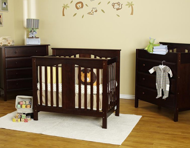 Annabelle Mini Convertible Crib Collection