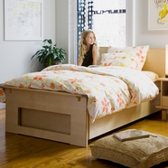 Argington Ayres Twin Bed in Birch