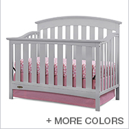 Arlington Convertible Crib Collection by Graco Cribs