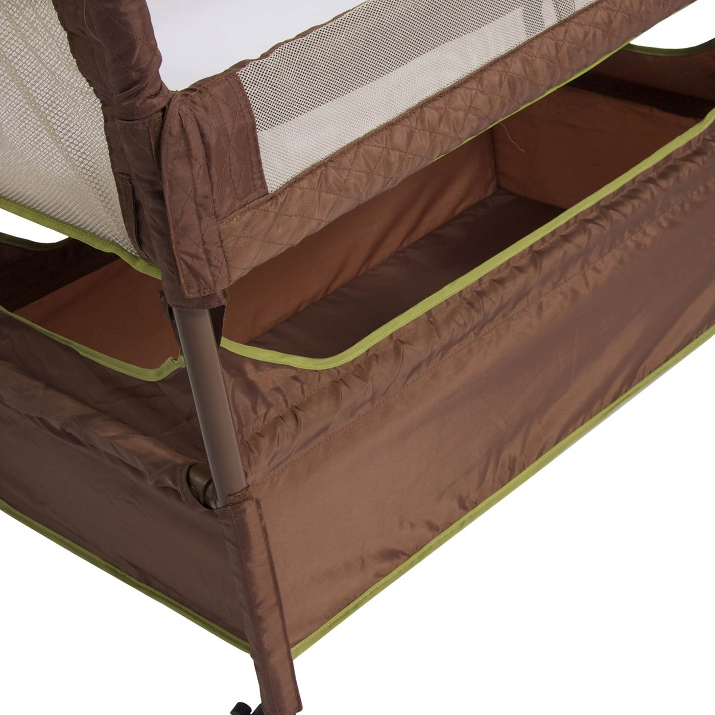 Arm s Reach Concepts Clear Vue Co-Sleeper in Cocoa Fern FREE SHIPPING 30db2d3ba
