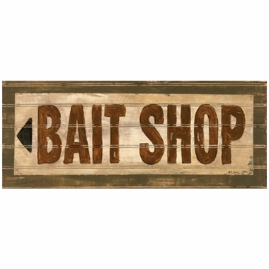 Art 4 Kids Bait Shop Wall Art