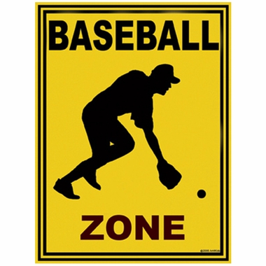Art 4 Kids Baseball Zone Wall Art