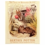 Art 4 Kids Beatrix Potter Bunnies with Cat Wall Art