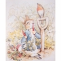 Art 4 Kids Beatrix Potter Peter Rabbit Eating Radishes Wall Art