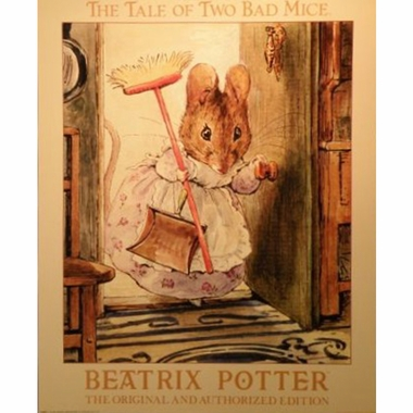 Art 4 Kids Beatrix Potter Tale of Two Bad Mice Wall Art