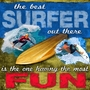 Art 4 Kids Best Surfer - Surfing Wall Art