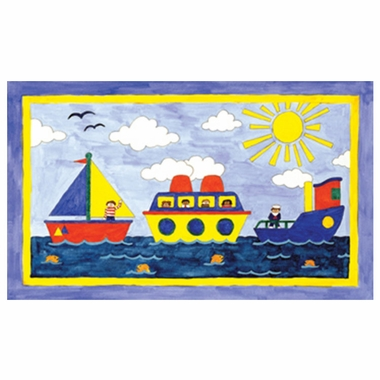 Art 4 Kids Big Boatin' Wall Art