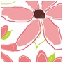 Art 4 Kids Blushing Blooms Panel II Pink Wall Art