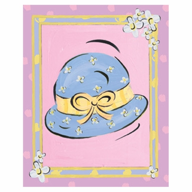 Art 4 Kids Bodacious Bonnet Wall Art
