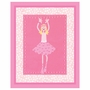 Art 4 Kids Candy Pink Ballerina Wall Art