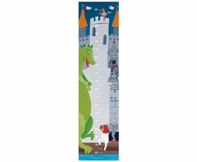 Art 4 Kids Castle Growth Chart Wall Art