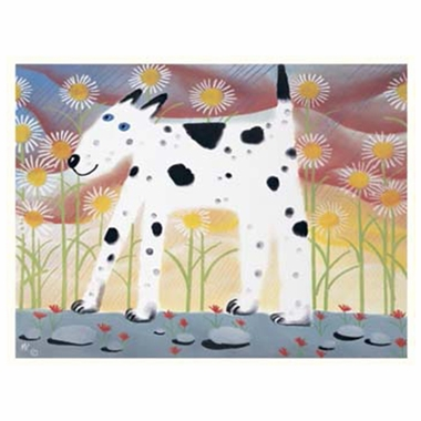 Art 4 Kids Chloe Dog Wall Art