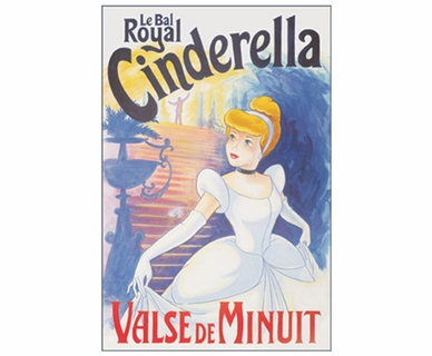 Art 4 Kids Cinderella, Le Bal Wall Art