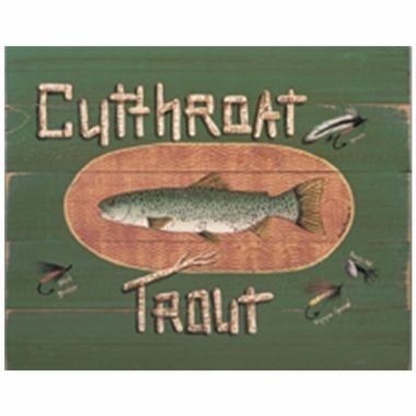 Art 4 Kids Cutthroat Trout Wall Art
