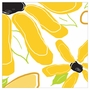 Art 4 Kids Dancing Daisy Panel I Yellow Wall Art