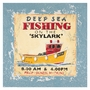 Art 4 Kids Deep Sea Fishing Wall Art  in Red