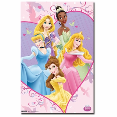 Art 4 Kids Disney Princess - Ever After Wall Art