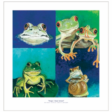 Art 4 Kids Frogs I Have Known Wall Art