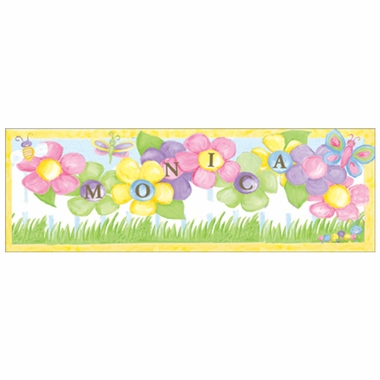 Art 4 Kids Garden Party Create-A-Name Wall Art