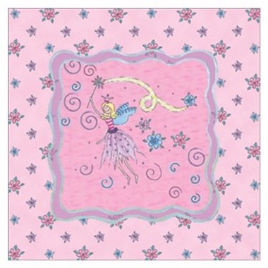 Art 4 Kids Glitter Fairy I Wall Art