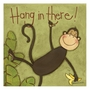 Art 4 Kids Hang In There Monkey Wall Art