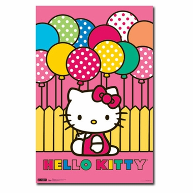 Art 4 Kids Hello Kitty Mimmy Wall Art