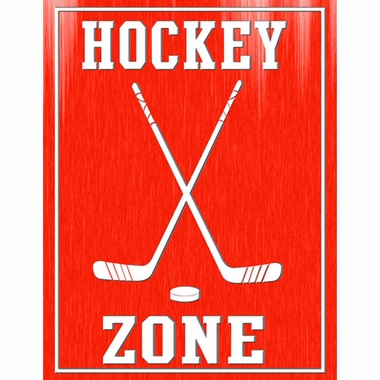 Art 4 Kids Hockey Zone Wall Art