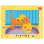Art 4 Kids Hug Time Dog with Cat Wall Art