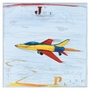 Art 4 Kids Jet Plane Collection Wall Art