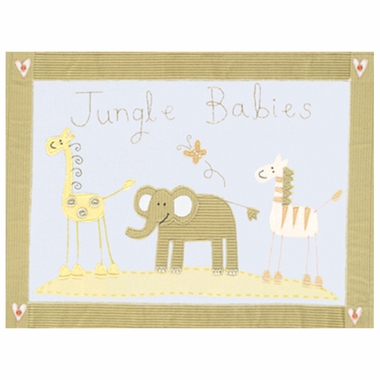 Art 4 Kids Jungle Babies Wall Art