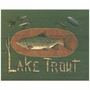 Art 4 Kids Lake Trout Wall Art