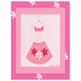 Art 4 Kids Little Pink Dress I Wall Art