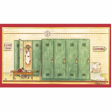 Art 4 Kids Locker Room Wall Art