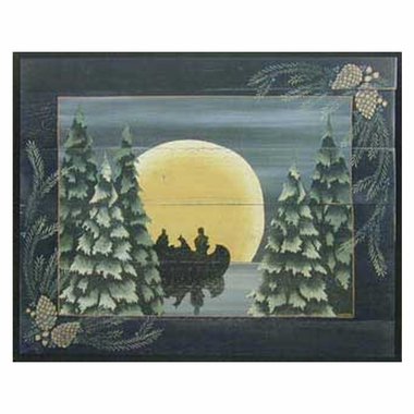 Art 4 Kids Moonlight Paddle Wall Art