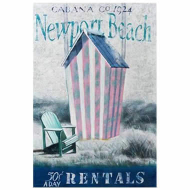 Art 4 Kids Newport Cabana Wall Art