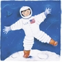 Art 4 Kids One Foot On The Moon Wall Art