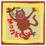 Art 4 Kids Patchwork Monkey Wall Art
