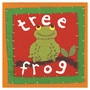 Art 4 Kids Patchwork Tree Frog Wall Art
