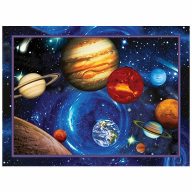 Art 4 Kids Planets in Orbit Wall Art