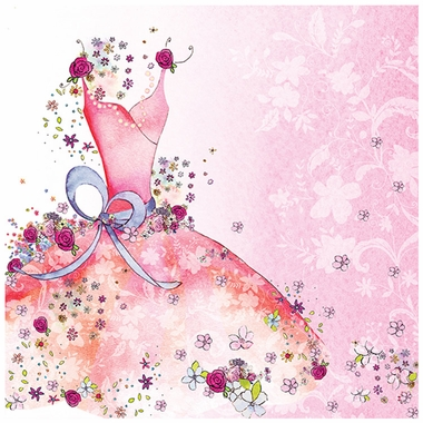Art 4 Kids Pretty Party Dress Wall Art