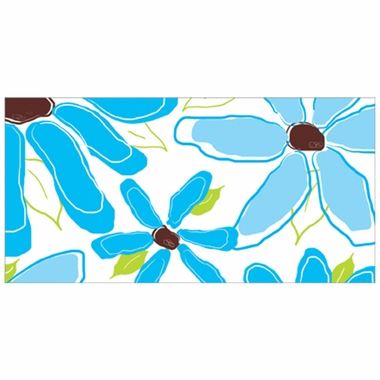 Art 4 Kids Pretty Petals Blue Wall Art