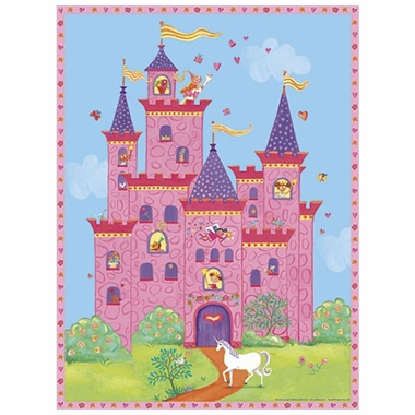 Art 4 Kids Princess Palace Wall Art