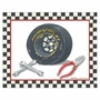 Art 4 Kids Race Car Gear II Wall Art