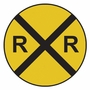 Art 4 Kids Railroad Crossing Wall Art
