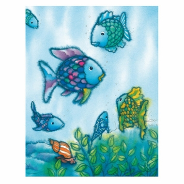 Art 4 Kids Rainbow Fish VI Wall Art
