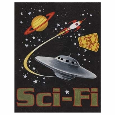 Art 4 Kids Sci-Fi Wall Art