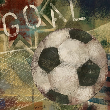 Art 4 Kids Soccer Goal Wall Art