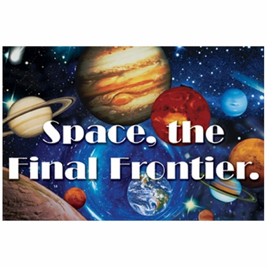 Art 4 Kids Space, The Final Frontier Wall Art