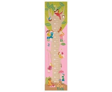 Art 4 Kids Tree House Growth Chart Wall Art