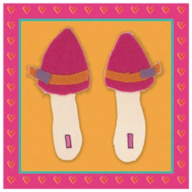 Art 4 Kids Tres Chic Shoes II Wall Art